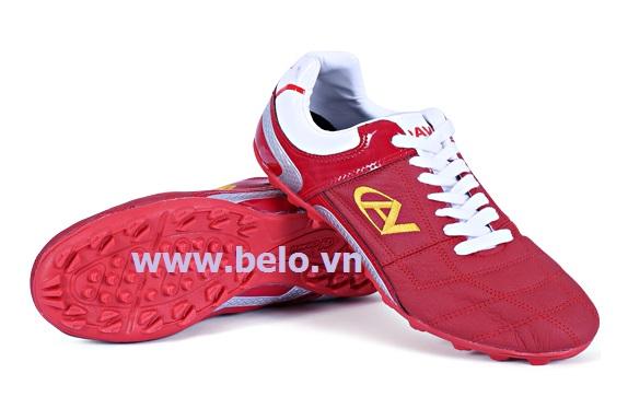 Giày bóng đá Coavu 09 đỏ đậm – chất da mềm mã BLGB0004