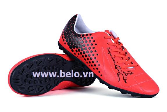 Giày bóng đá Coavu Dragon,da tổng hợp đỏ BLGB0004