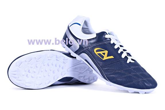 Giày bóng đá Coavu 09 xanh đen – chất da mềm mã BLGB0005