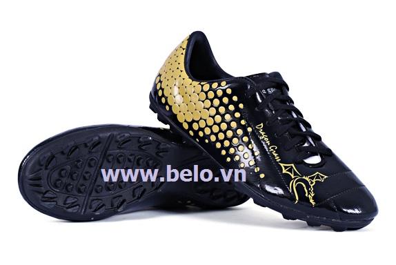 Giày bóng đá Coavu Dragon,da tổng hợp đen BLGB0001