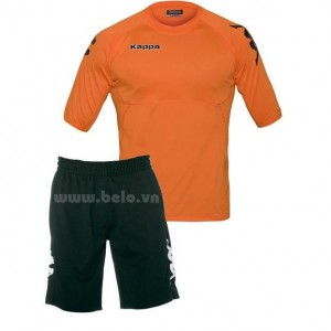 Áo bóng đá Kappa cao cấp thun co dãn 4 chiều màu cam