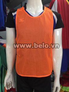 Áo lưới tập bóng đá phân đội màu cam AT005
