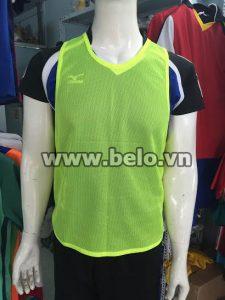Áo lưới tập bóng đá phân đội màu vàng chanh AT007
