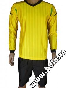 Áo thủ môn bóng đá giá rẻ màu vàng chanh ATM03