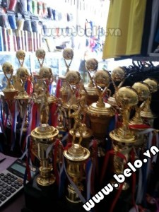 Cúp vàng bóng đá giá rẻ phân phối bởi Belo Sport
