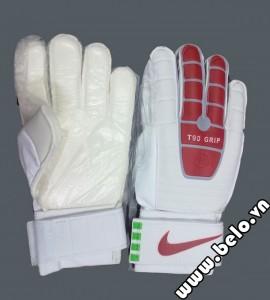 Găng tay thủ môn xịn Nike T90 Grip đỏ