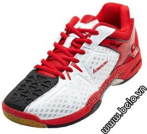 Giày Cầu Lông Kawasaki K513 đỏ đen pha trắng