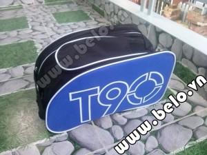 Túi đựng đồ bóng đá hai ngăn Nike T90 xanh dương