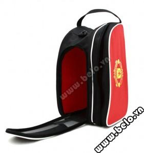 Túi đựng đồ bóng đá hai ngăn Manchester màu đỏ