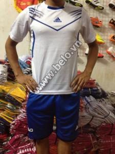 Áo bóng đá không logo giá rẻ Adidas F50 2015 trắng