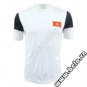 Áo bóng đá đội tuyển Việt Nam U19 thân yêu trắng đen 2014-2015