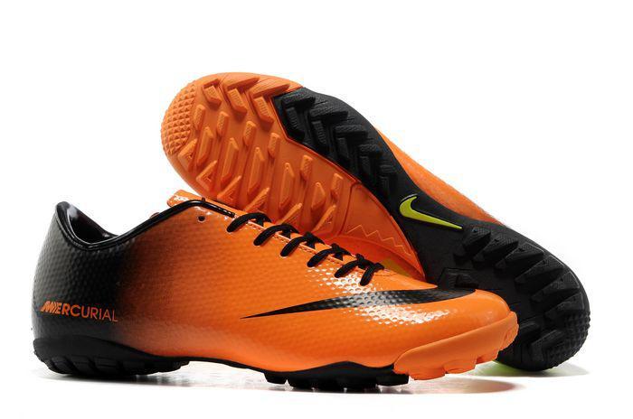 Giày bóng đá Nike chính hãng Mercurial Vapor 9 TF cam đen