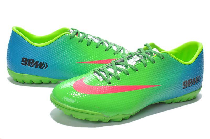 Giày bóng đá Nike chính hãng Mercurial Vapor 9 TF xanh lá