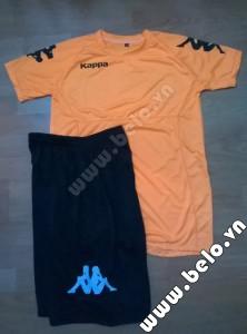 Áo bóng đá Kappa giá rẻ Simple 2015 màu cam