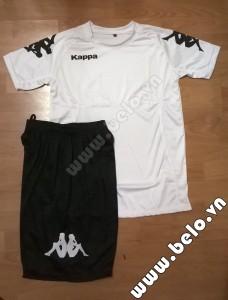 Áo bóng đá Kappa giá rẻ Simple 2015 màu trắng