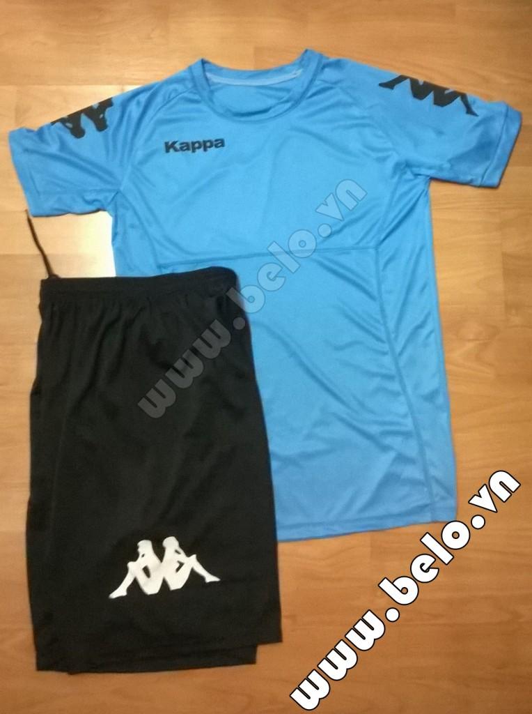 Áo bóng đá Kappa giá rẻ Simple 2015 màu xanh ngọc