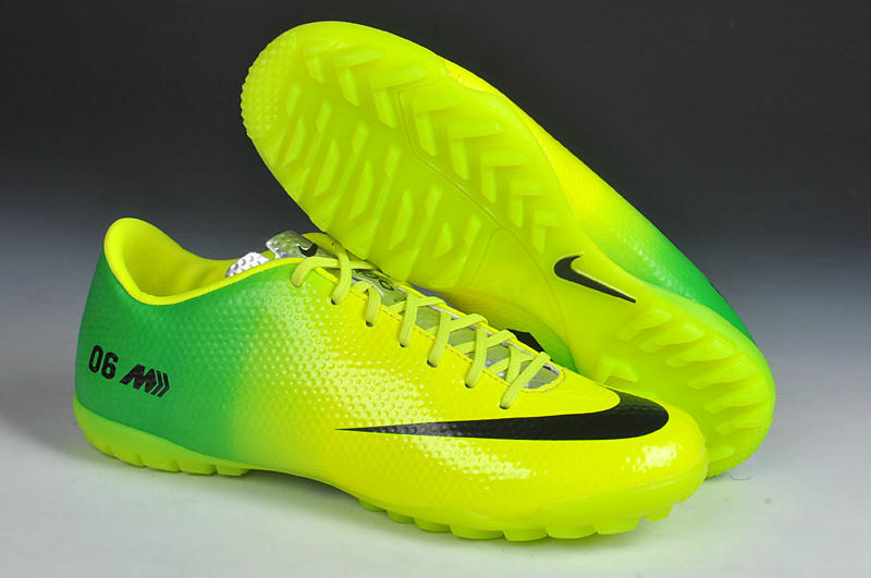 Giày bóng đá Nike chính hãng Mercurial Vapor 9 TF vàng chanh