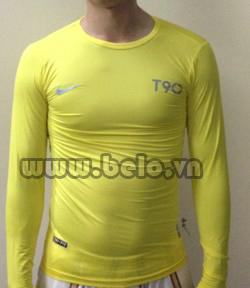 Áo lót bóng đá body giá rẻ mẫu BOD002 Nike vàng