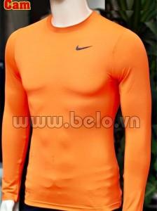 Áo lót bóng đá body giá rẻ mẫu BOD007 Adidas cam