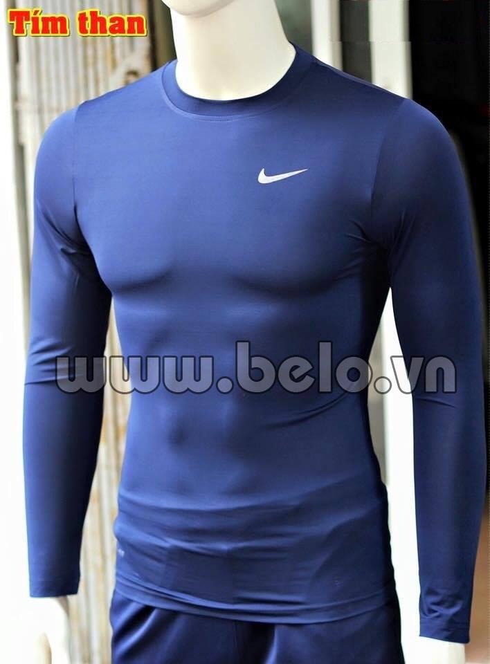 Áo lót bóng đá body giá rẻ BOD010 màu tím than