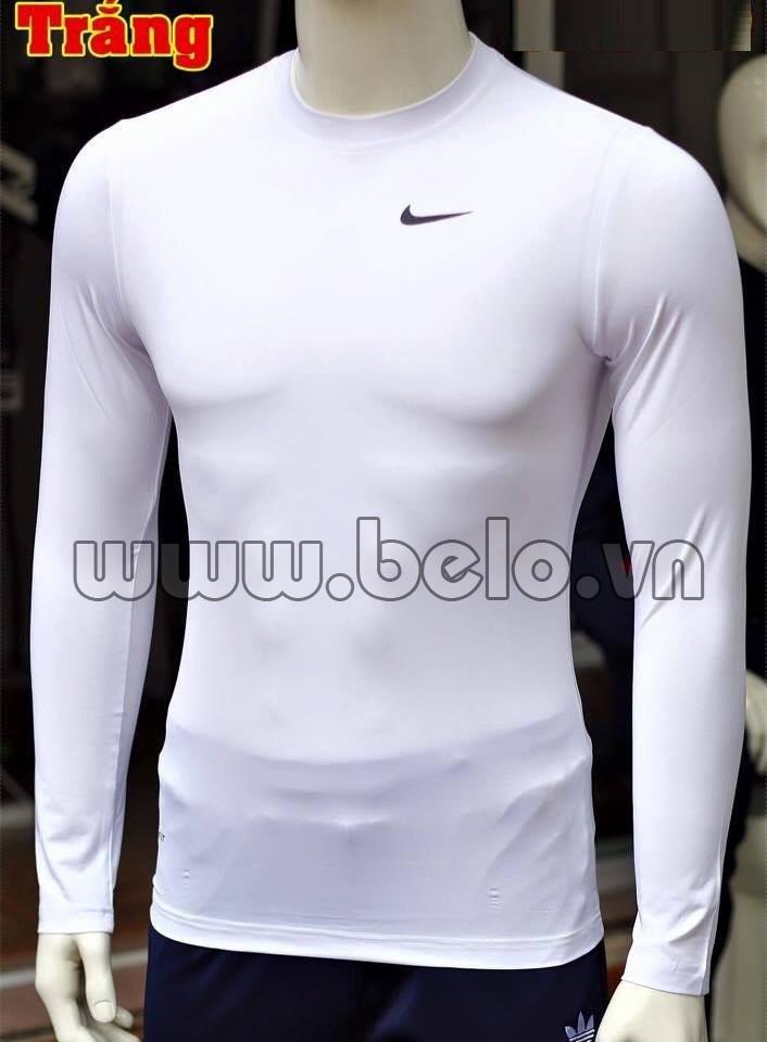 Áo lót bóng đá body giá rẻ mẫu BOD004 Adidas trắng