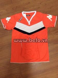 Áo bóng đá Kappa Wolfsburg 2016 màu cam