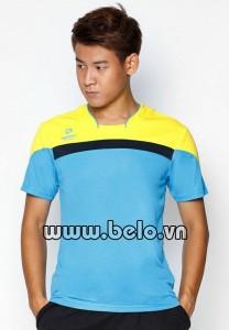 Áo bóng chuyền cao cấp chính hãng Donexpro màu vàng xanh mã 2016-11