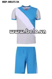 Áo bóng đá cao cấp độc quyền Belo's X4