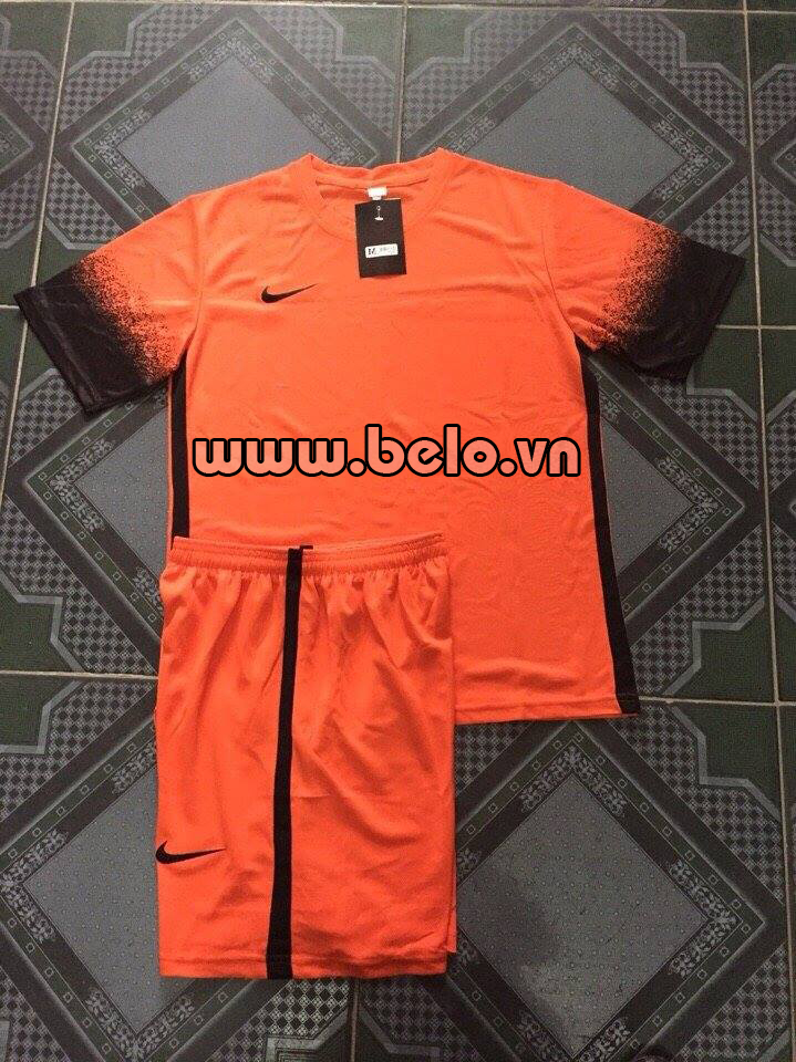 Áo bóng đá không logo Nike cam AKLG 34-2016