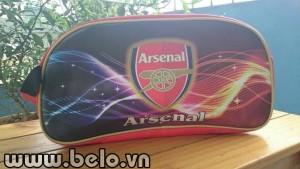 Túi đựng đồ bóng đá Arsenal 3D cao cấp