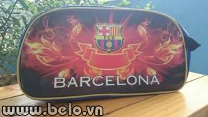 Túi đựng đồ bóng đá CLB Barca 3D cao cấp