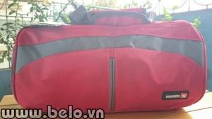 Túi đựng giày thể thao hình trống màu đỏ