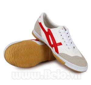Giày Warior W27 ( bóng chuyền, bóng bàn, cầu lông) trắng đỏ