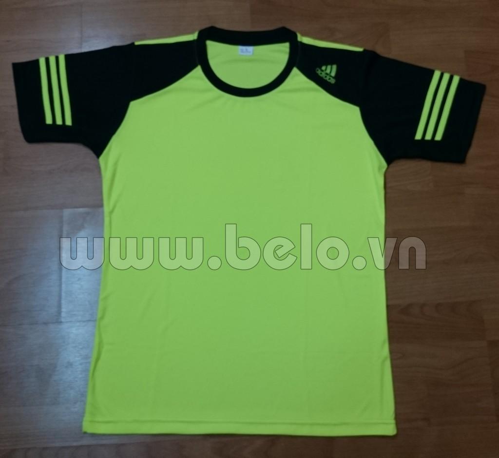 Áo bóng đá không logo Adidas màu chuối mã AKLG46-2016