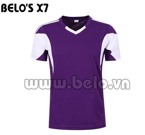 Áo bóng đá độc quyền cao cấp Belo's X7 năm 2016