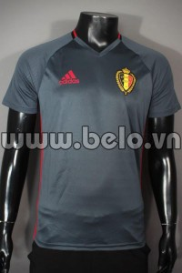 Áo bóng đá đội tuyển Bỉ màu Xám mùa 2015-2016