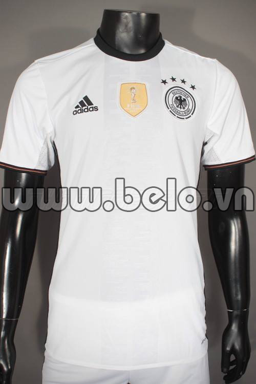 Áo đội tuyển Đức màu trắng sân nhà EURO 2016-2017