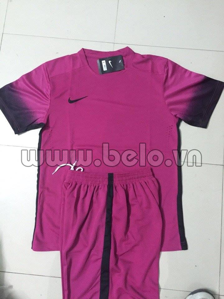 Áo bóng đá không logo nike màu hồng  AKLGCC37-2016