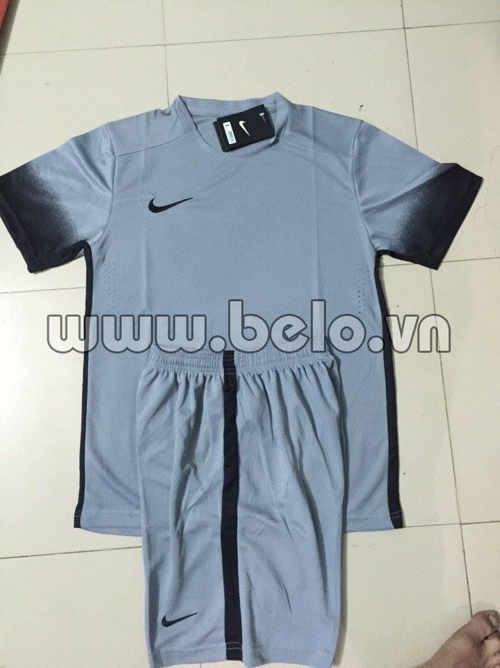 Áo bóng đá không logo nike màu xám  AKLCC38-2016