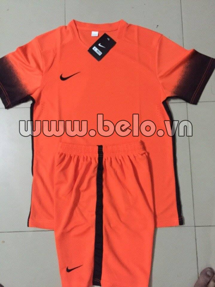 Áo bóng đá không logo NIKE màu cam AKLGCC39-2016