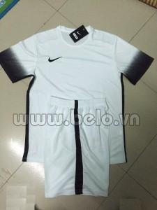 Áo bóng đá không logo nike màu trắng mã AKLG48-2016