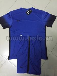 Áo bóng đá không logo nike xanh dương mã AKLG49-2016