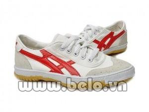 Giày Bata Warior W27 ( bóng chuyền, bóng bàn, cầu lông) trắng đỏ
