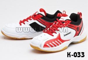 Giày cầu lông Kawasaki 2016 K033 đỏ trắng