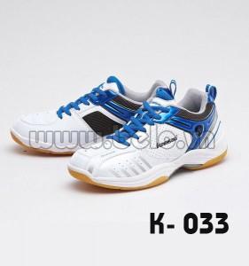 Giày cầu lông Kawasaki K033 màu xanh dương.