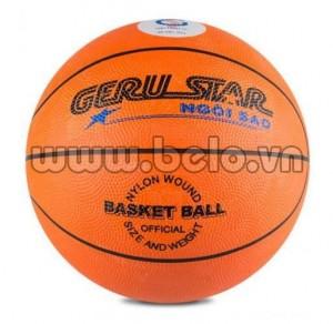 Quả bóng rổ Gerustar số 6 màu cam tập luyện giá rẻ