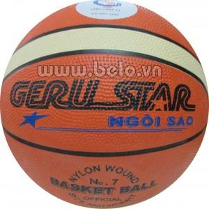 Quả bóng rổ Geru star số 7 màu cam tập luyện giá rẻ