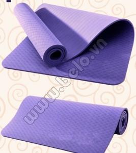 Thảm tập Yoga TPE 8mm nhập khẩu hàng đúc giá rẻ