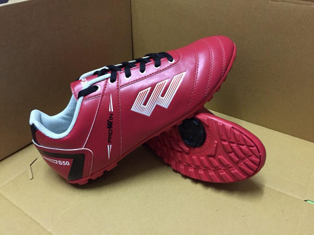 Giày bóng đá Prowin S50 màu đỏ chính hãng năm 2020