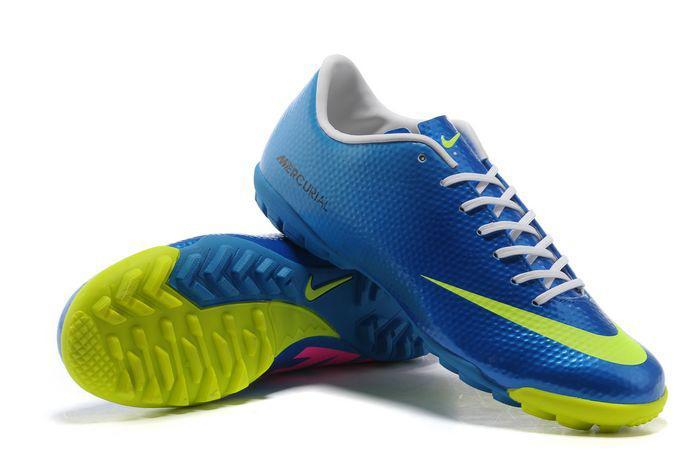 Giày bóng đá Nike chính hãng Mercurial Vapor 9 TF xanh biển